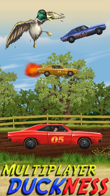 Abbeville Redneck Duck Chase - Turbo Car Racing Game screenshot-3