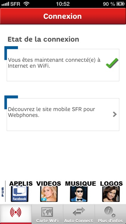 SFR WiFi screenshot-0