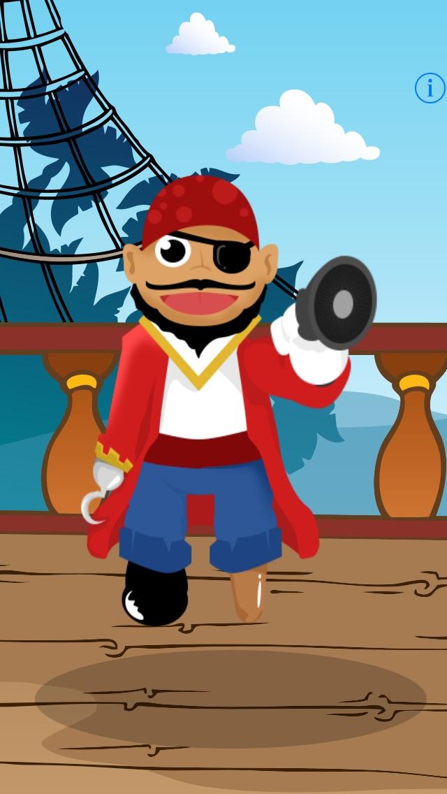 Sprechender Pirat - Talking Pirate: Spiel für Kinder, Eltern, Freunde und Familie mit Piraten!Screenshot von 1