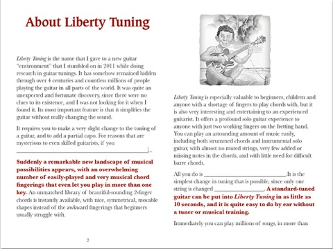 The Liberty Tuning Chord Book by Harvey Reid on iBooks
