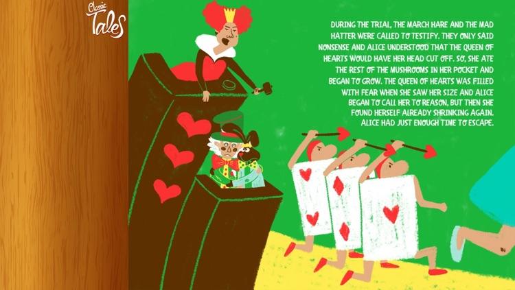 Alice in wonderland - Classic Tales screenshot-3