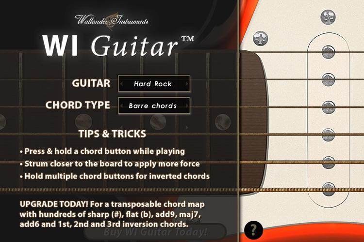 WI Guitar™ Free screenshot-3
