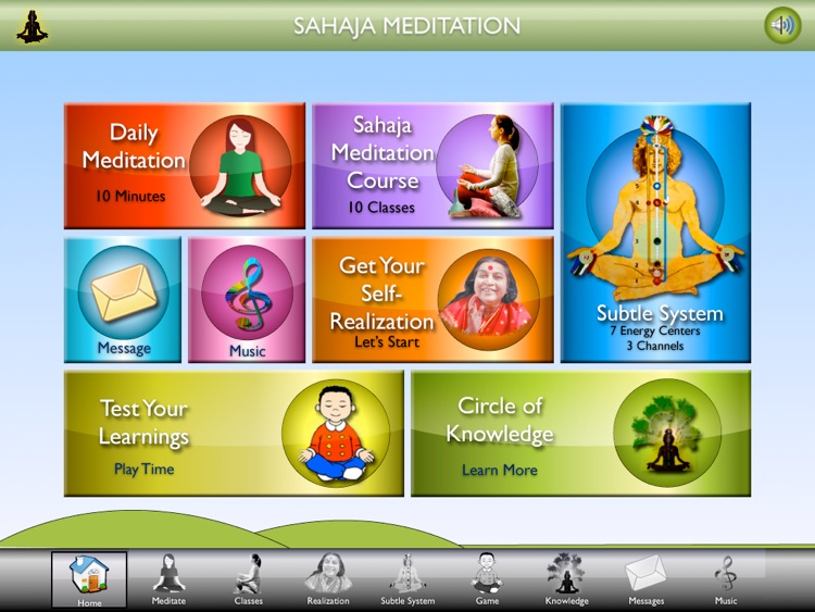 SahajaMeditation-iPAD