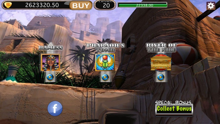 Golden Pharaoh Slots screenshot-3