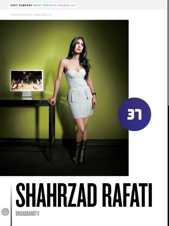 Fast Company's 100 Most Creative People In Busi... screenshot-2
