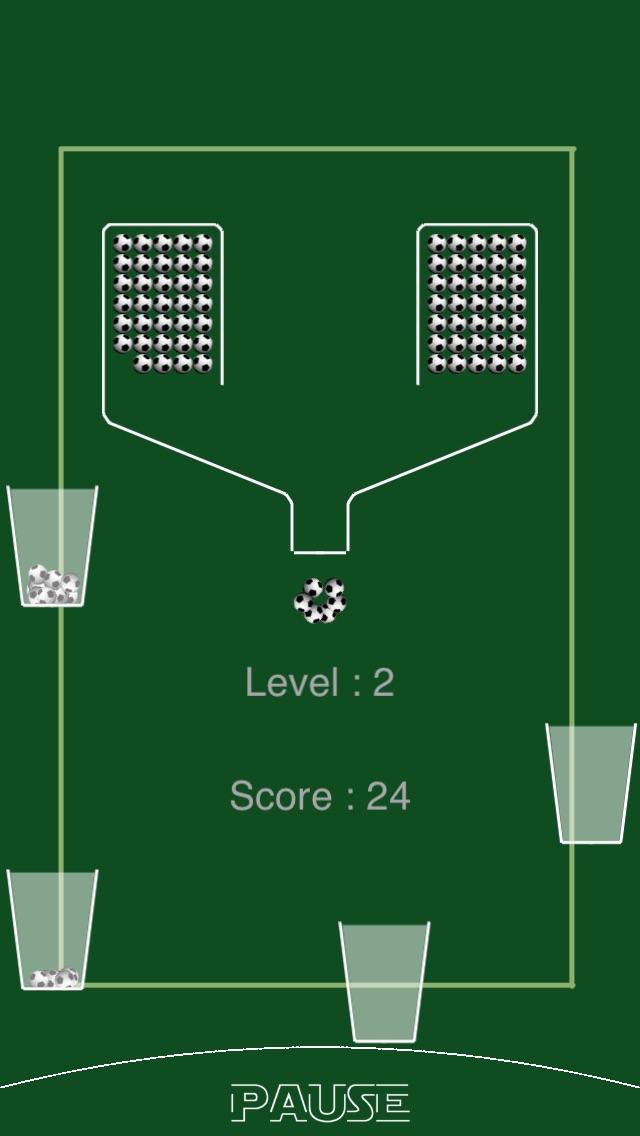 100 Soccer Balls (100 Footballs) Screenshot