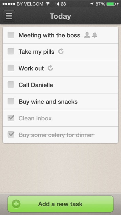 TaskDone — powerful to-do list and task manager for getting things done