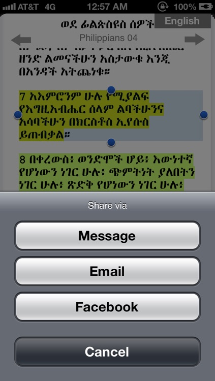 Amharic Bible with Audio screenshot-4