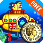Amazing Coin(GBP£): Educational Money Learning & Counting games for kids FREE icon
