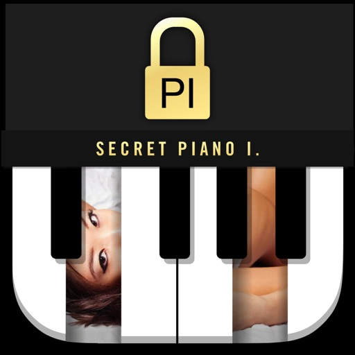 Secret Piano Icon - Piano Lock Photo+Video Manager and Disk Vault