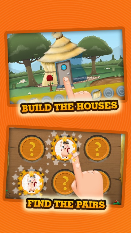 Three Little Pigs - Story & Games screenshot-3