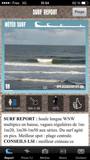 Lacanau Surf Info Im App Store