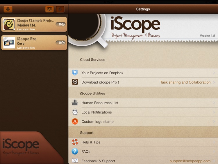 iScope - Project Management 4 Humans