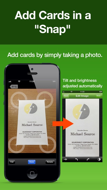Cardful - Business Card Management on Evernote - screenshot-1