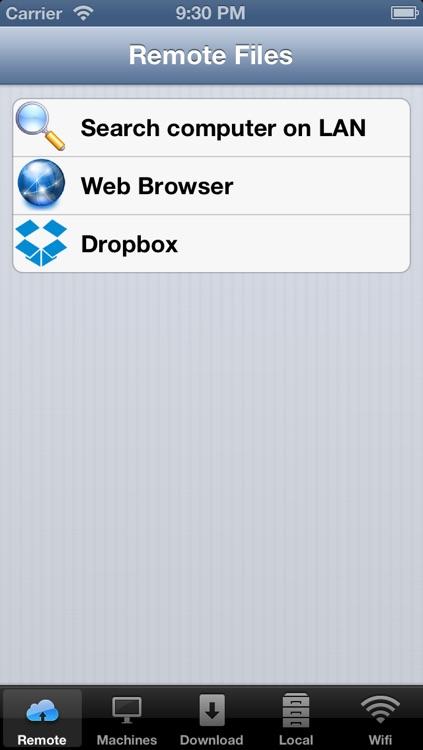 Remote File Explorer