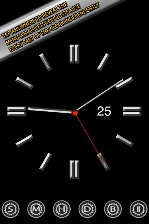 Clock Screensaver