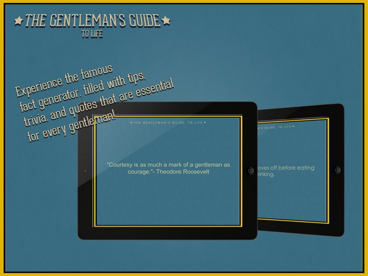 The Gentleman's Guide to Life screenshot-4