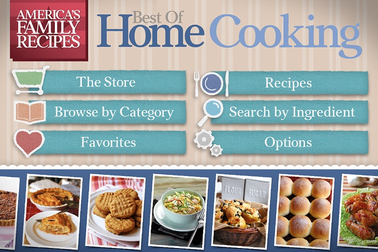 America's Family Recipes: Best of Home Cooking screenshot-0