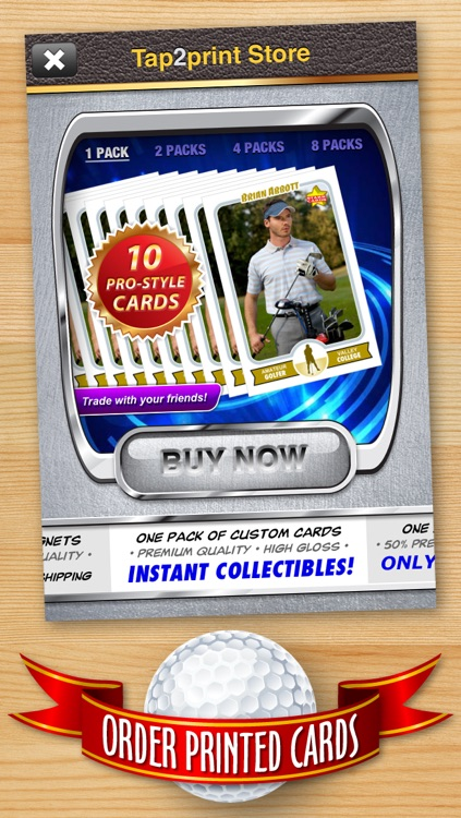 Golf Card Maker - Make Your Own Custom Golf Cards with Starr Cards screenshot-4