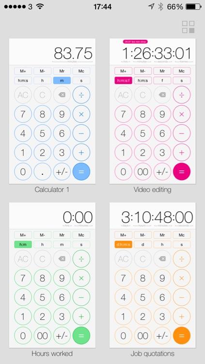 time:calc screenshot-3