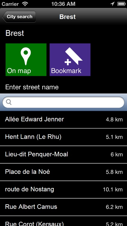 Offline Brittany, France Map - World Offline Maps screenshot-4