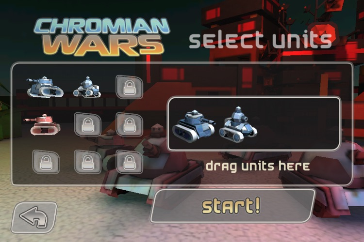 Chromian Wars screenshot-1