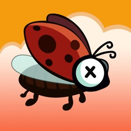 Flying Bug - A Self Torture Tiny Adventure Game with Ladybug