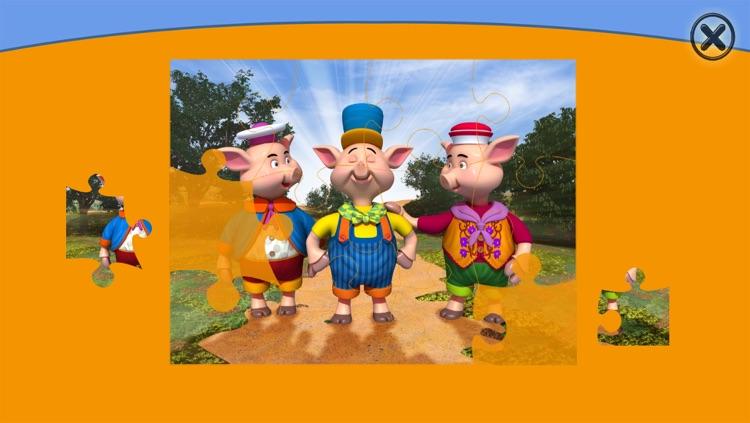 The 3 Little Pigs - Book & Games (Lite) screenshot-3