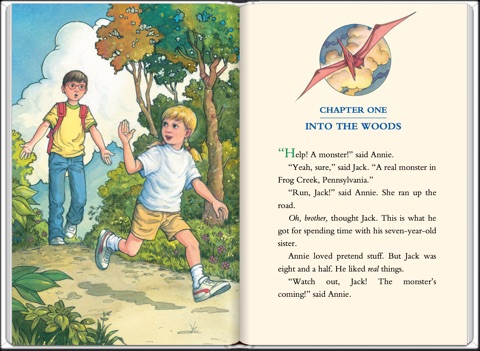 jack and annie magic tree house coloring pages - dinosaurs before dark full color edition by mary pope