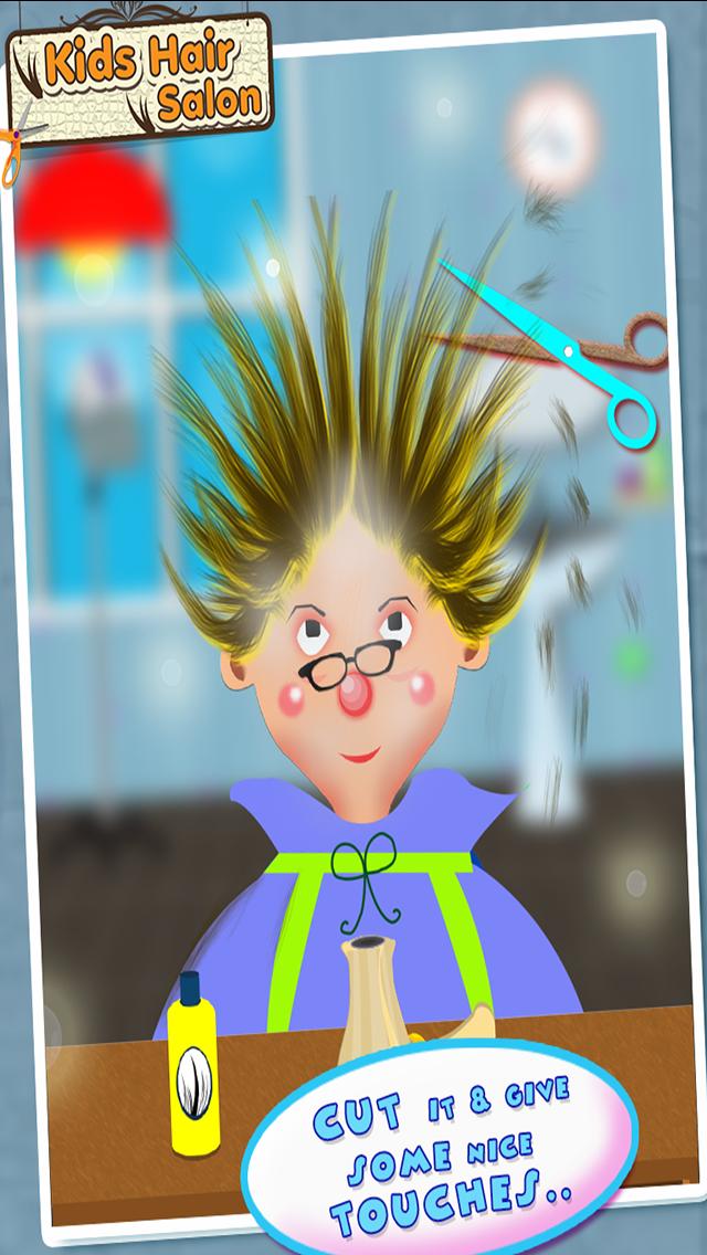 ヘアーサロン - 子供ファッションサロンのように有名なヘアスタイルメーカーを再生するのおすすめ画像2