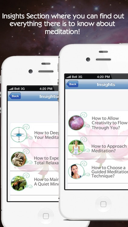 Pocket Meditation: Guided meditation techniques for the beginner to advanced meditator, who want deep sleep, relaxation & inner peace screenshot-4
