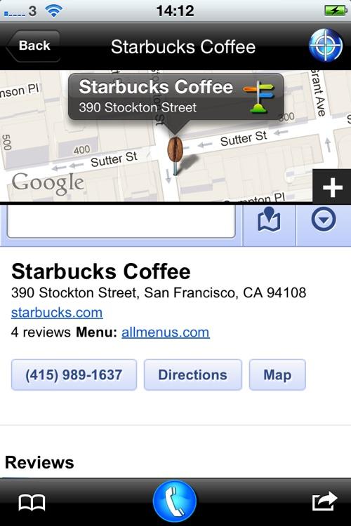 COFFEE Compass FREE screenshot-3