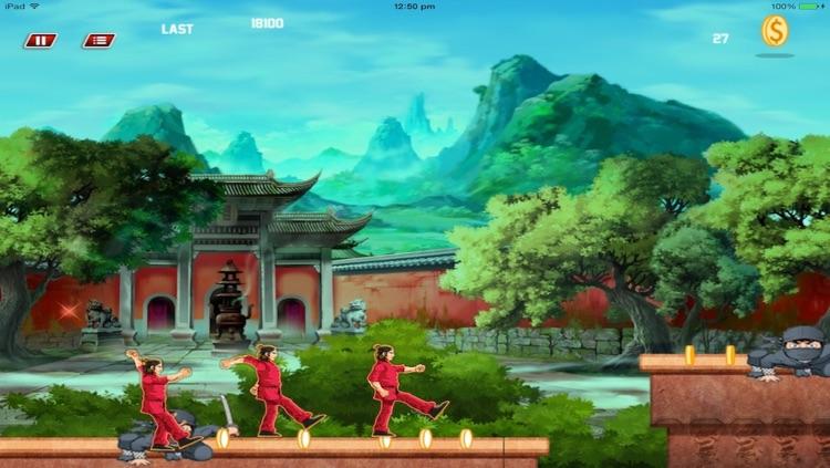Super KungFu Fighter Run -HD
