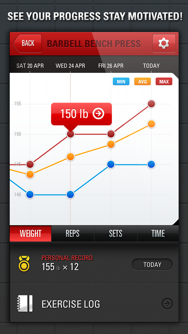 Gym Genius - Workout Tracker:  Log Your Fitness, Exercise & Bodybuilding Routinesのおすすめ画像3