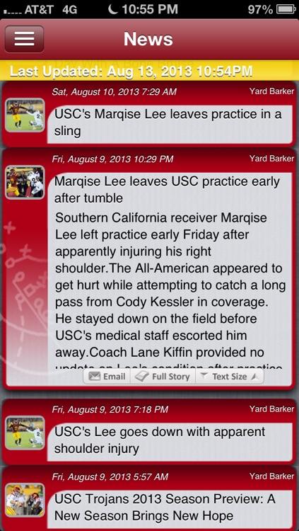 USC Football Live