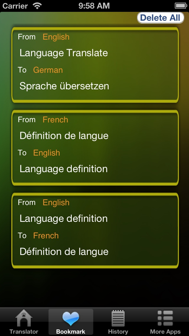 Language Translator Lite HD Скриншоты5