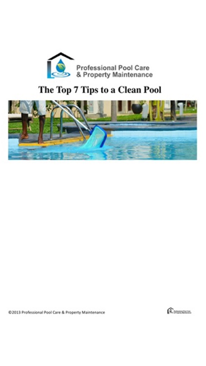 Professional Pool Care & Property Maintenance screenshot-1