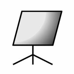 Refboard - reflector for camera -