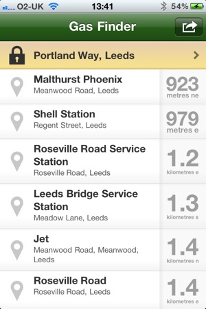 Nearest Gas Stations >> Gas Finder Find Your Nearest Gas Stations On The App Store