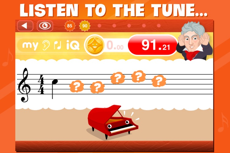 Hear It, Note It! - The Aural iQ Game