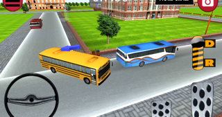 Bus Parking 3D - School Bus screenshot two