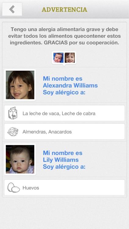 Allergy FT: Allergy Food Translator screenshot-4