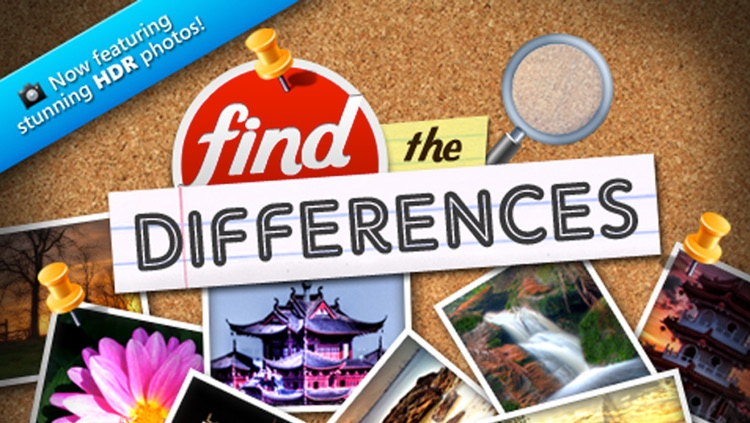 Free Find the Differences - Family Packed Puzzle Arcade & Kids Game - For iPhone