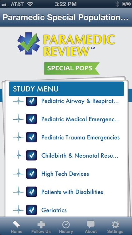 Paramedic Special Populations Review screenshot-0