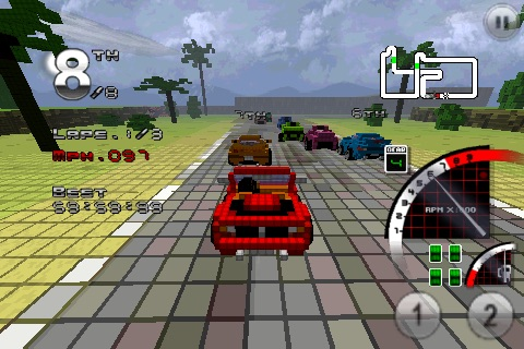 3D Pixel Racing screenshot-0