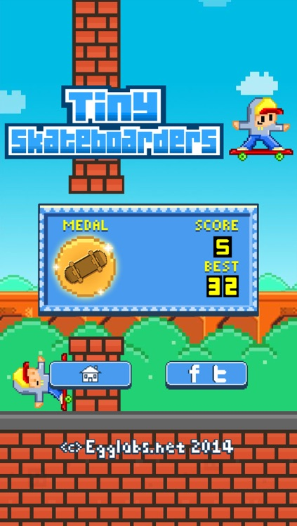 Tiny Skateboarders – Play Free 8-Bit Pixel Games screenshot-3