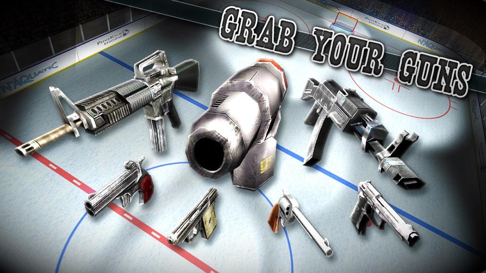 American Hockey: Guns & Sticks hack tool