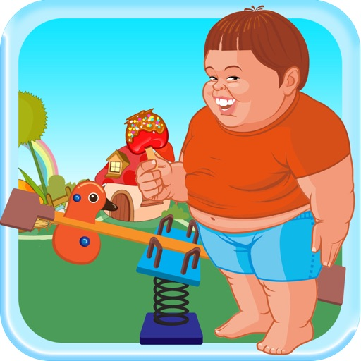 Chubby Kid See Saw Adventure - High Cookie Jumper Free