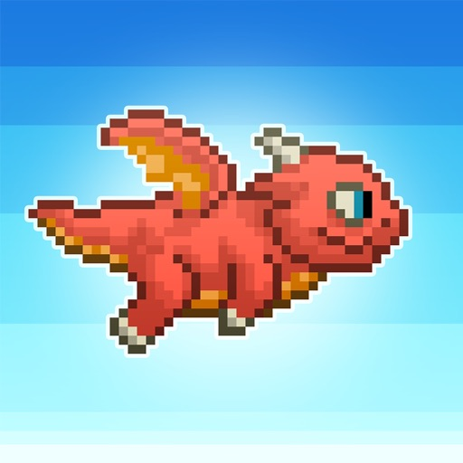 Hard to Fly: Flappy Dragon Adventure Free