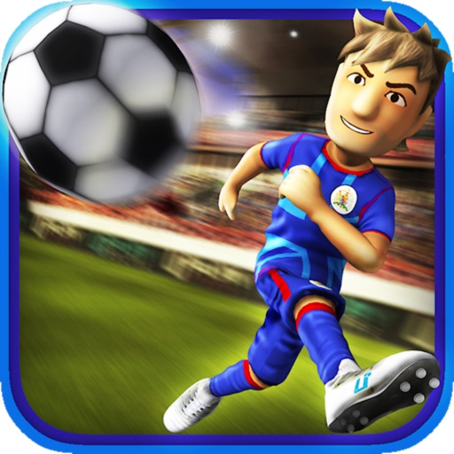 Striker Soccer London: your goal is the gold icon